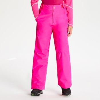 Kids' Delve Ski Pants - Cyber Pink