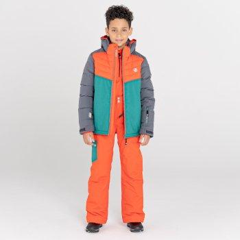 Timeout II wasserdichte, isolierte Skihose für Kinder Orange