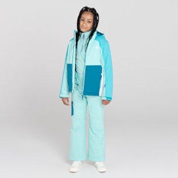 Timeout II wasserdichte, isolierte Skihose für Kinder Blau