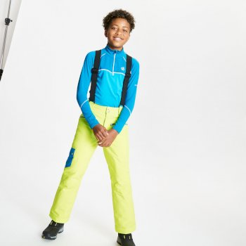Timeout II wasserdichte, isolierte Skihose für Kinder Gelb