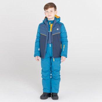 Outmove II wasserdichte, isolierte Skihose für Kinder Blau