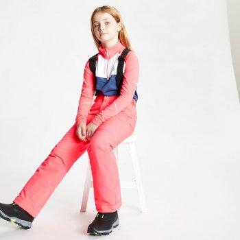 Outmove II wasserdichte, isolierte Skihose für Kinder Rosa