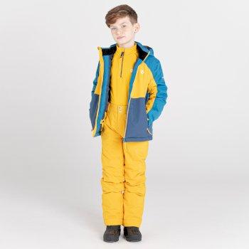 Outmove II wasserdichte, isolierte Skihose für Kinder Gelb