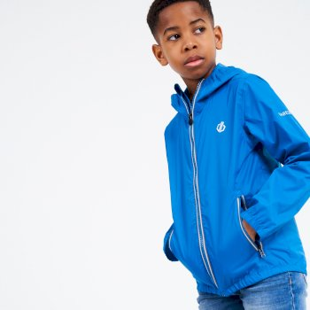 Amigo Leichte Kinderjacke Mit Kapuze  Blau