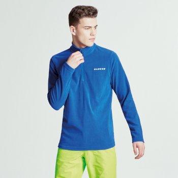 Dare2b Men's Freeze Dry II Half-Zip Fleece Nautical Blue