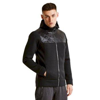 Men's Blackwash Ski Midlayer Sweater - Black