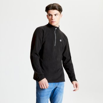 Men's Freethink Half Zip Lightweight Fleece Black