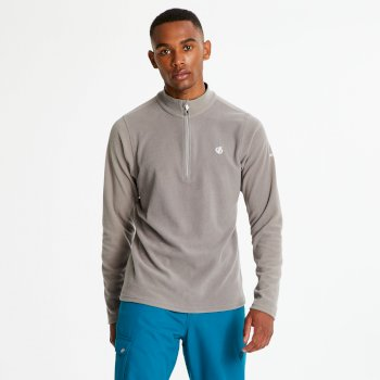 Dare2b Men's Freethink Half Zip Lightweight Fleece - Cloudy Grey