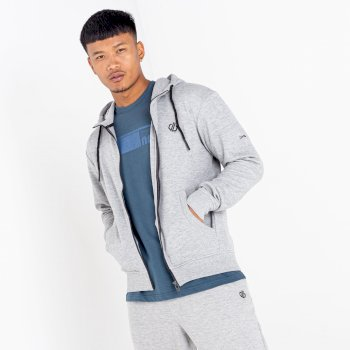 Dare 2b The Jenson Button Edit - Modulus Full Zip Hoodie - Ash Grey