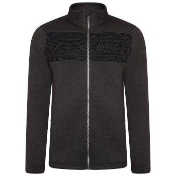 Inclose Fleece-Sweatshirt mit durchgehendem Reißverschluss für Herren Grau