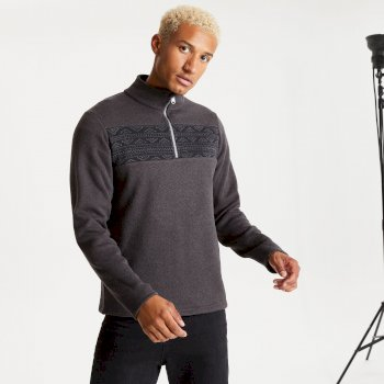Dare 2b Men's Spatial Half Zip Fleece - Ebony Grey