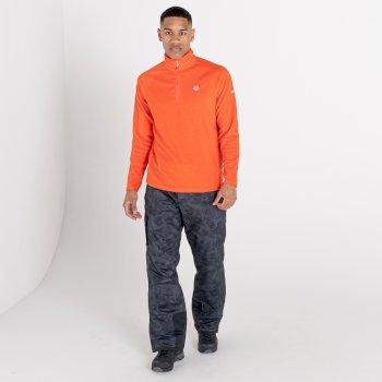 Freethink II Fleece mit halblangem Reißverschluss für Herren Orange