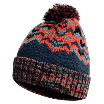 Dare2b Men's Headstrong Bobble Hat - Ebony Clementine