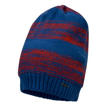 Thesis - Herren Beanie-Mütze Oxford Blue Fiery Red
