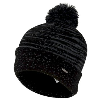 Men's Mind Over Bobble Hat - Black