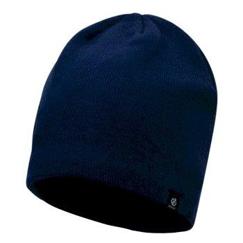 Rethink - Herren Beanie-Mütze - bestickt Admiral Blue