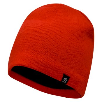 Dare2b Men's Rethink Embroidered Beanie Hat - Fiery Red