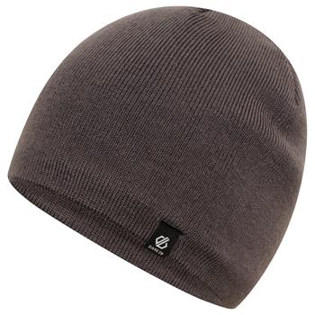 Rethink Beanie-Mütze mit Stickerei für Herren Grau