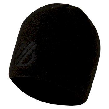 Dare2b Men's Rethink Embroidered Beanie Hat - Black