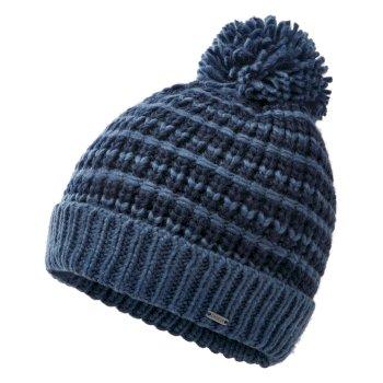 Dare 2b Men's Mind Over II Fleece Lined Knit Bobble Beanie - Nightfall Navy Dark Denim