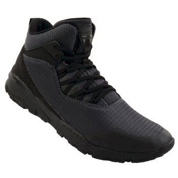 Dare 2b Men's Uno Mid Trainers - Ebony Black