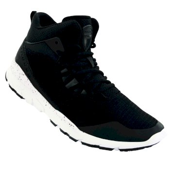 Dare 2b Men's Uno Mid Trainers - Black White
