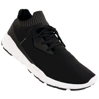 Men's Xiro Trainers Black White