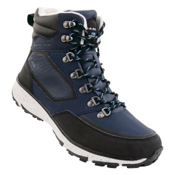 Dare2b Men's Annecy Mid Ski Boots Outerspace Blue Cyberspace Grey