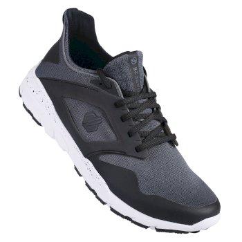 Rebo Herren-Sportschuh Smokey Grey Black