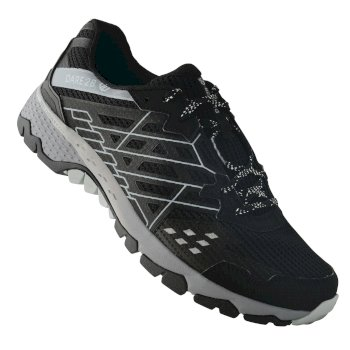 Herren Razor II Shock Absorbing Trainer Black Gravity Grey
