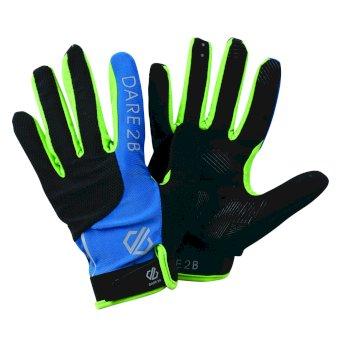 Forcible - Herren Handschuhe - atmungsaktiv Petrol Blue Jasmine Green