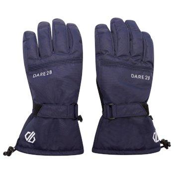 Dare 2b Men's Worthy Waterproof Insulated Ski Gloves - Nightfall Navy