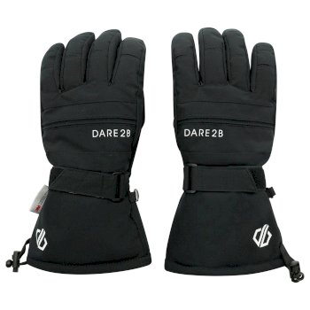 Dare 2b Men's Hold On II Waterproof Insulated Ski Gloves - Black
