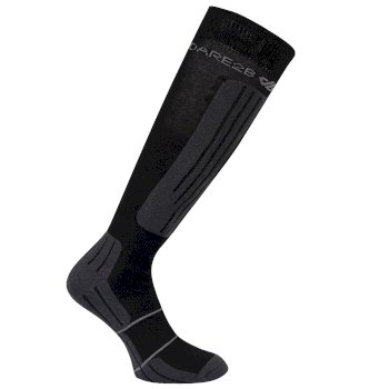 Dare2b Men's Sculpt Ski Socks - Black