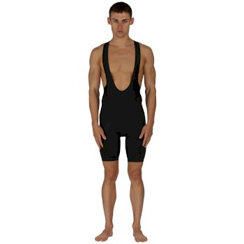 Men's AEP Stage Race Bibbed Cycling Shorts - Black