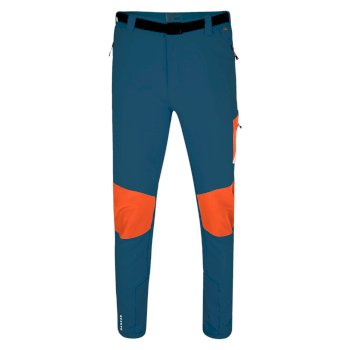 Men's Paradigm Softshell Hiking Trousers Kingfisher Blue