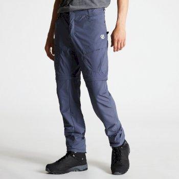Tuned In II Zip-Off-Walkinghose mit mehreren Taschen für Herren Grau