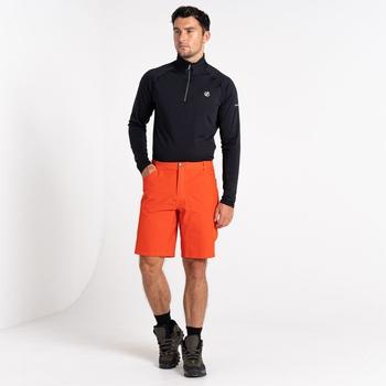 Tuned In II Walkingshorts Mit Mehreren Taschen Für Herren Rot