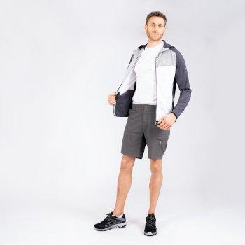 Tuned In II Walkingshorts mit mehreren Taschen für Herren Grau