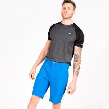 Tuned In II Walkingshorts mit mehreren Taschen für Herren Blau