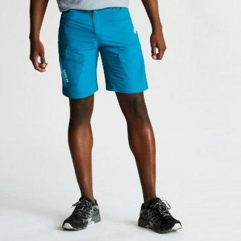 Tuned In II Walkingshorts mit mehreren Taschen für Herren blaugrün