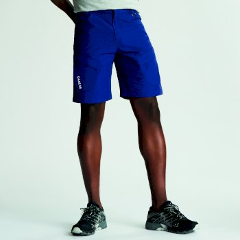 Tuned In II Walkingshorts mit mehreren Taschen für Herren hellblau