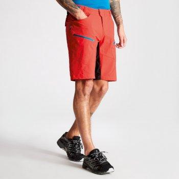 Renew Herren-Fahrradshorts mit vielen Taschen rot