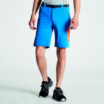 Disport leichte Herren-Shorts mit vielen Taschen Petrol Blue