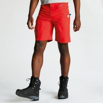Disport leichte Herren-Shorts mit vielen Taschen Fiery Red