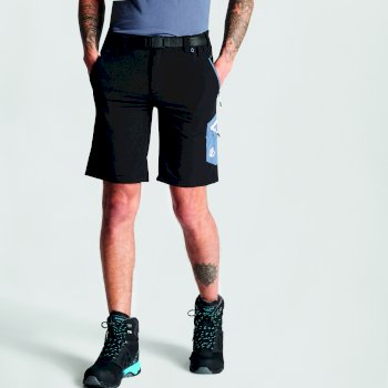 Disport leichte Herren-Shorts mit vielen Taschen schwarz