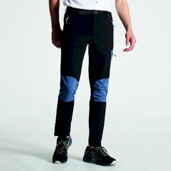 Disport leichte Herren-Wanderhose mit vielen Taschen Schwarz