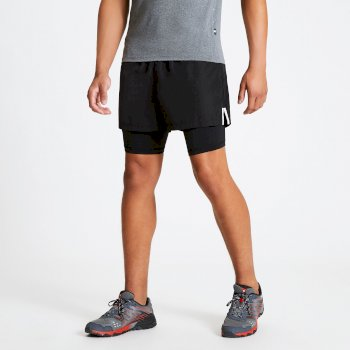 Dare 2b The Jenson Button Edit - Recreate Quick Drying Gym Shorts - Black