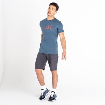 Continual Shorts mit Zugband für Herren Grau