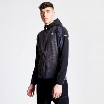 Appertain II leichte Softshell-Jacke für Herren Charcoal Grey Marl Black